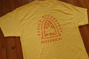 Recordings Historical yellow tee